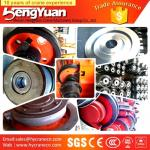 High-Duty wrought overhead crane wheels