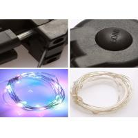 Flashing Safety Multicolor Led Bike Wheel Lights Rechargeable Copper Wire