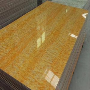 High Gloss Laminated MDF Board With UV Surface Material ISO9001