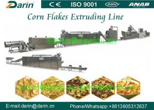 China High capacity Bulk corn flakes automatic food making machine for Cereals snacks on sale