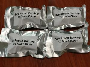 China Emergency Water Activated Fiberglass Pipe Repair Wrap Tape on sale