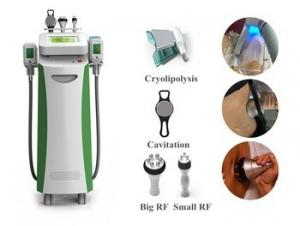 China Newest model fat freezing fat reduction cryolipolysis for salon criolipolisis/cavitation/Rf 3 in 1 technology on sale