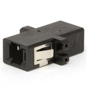 China Simplex Or Duplex Fiber Optic Adapter For Communication / Bare Fiber Adapter on sale