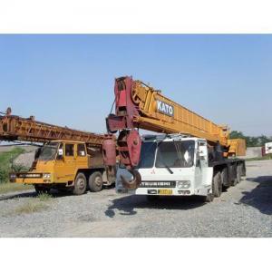 China Used truck crane kato 40 ton on sale
