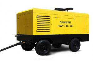 China Diesel Drive Portable Screw Air Compressor (DWT-15/13) on sale