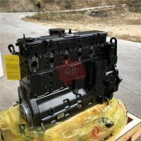 genuine cummins L375 long block basic engine assembly on discount used for truck excavator crane loader drilling rig bus