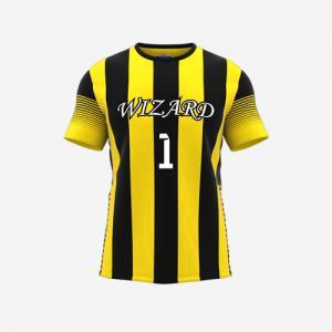 China Good quality bulk soccer jerseys / soccer jersey made in thailand full set soccer uniform on sale