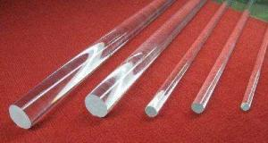 China High temperature resistant clear Transparent 0.5mm-300mmFused Silica quartz Rods on sale