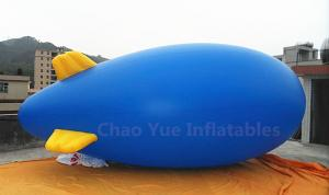 China 4M Blue Inflatable Helium Blimp for advertising on sale