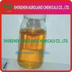 China Abamectine 1.8EC Pesticide Agrochemical Insecticides 1.8% Purity 71751-41-2 on sale