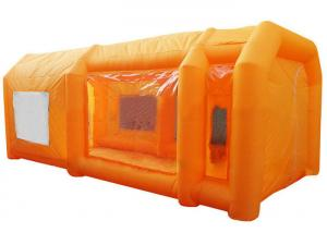 China Commercial Grade Inflatable Event Tent / Blow Up Spray Car Wash Booth on sale