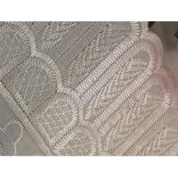 China african organic cotton dry lace cotton lace fabric by the yard on sale