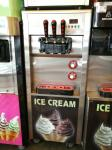 Commercial Ice Cream Machine Soft Serve Freezer R22 Refrigerator Capacity 18-23L/h
