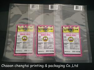 China Customized Retort Pouches Pork Meatballs Vacuum Packaging Bag 0 - 9 Colors on sale