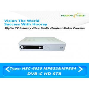 China El set-top box DVB C de Digitaces H 264 recibe tarifa del símbolo del baudio HD de la señal los 9M del RF on sale