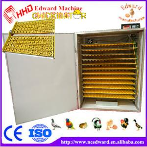 China Supply different type chicken hatching incubators automatic industrial egg incubator 1232 eggs incubator EW-1232 on sale