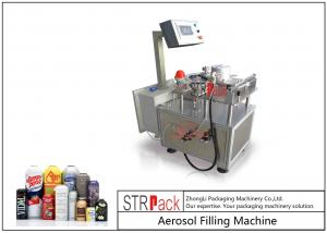 China Industrial Aerosol Can Electronic Weighing Machine For Aerosol Can Filling System on sale