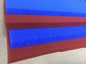 China Open Cell High Temperature Silicone Rubber Sheet Cutting Surface 200psi Tensile Strength on sale