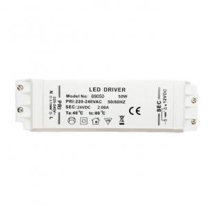 China Led Downlight High PF 50W 12V LED Driver Fireproof GS CB CE Approval on sale