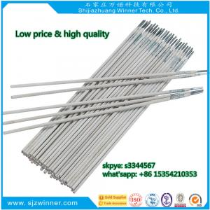 China galvanized steel welding rods J421 arc welding electrodes AWS E6013 e7018 e6011 on sale