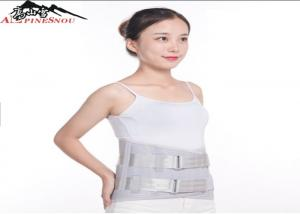 China Steel Plate Waist Back Support Belt Medical Slim Cushion Lumbar Belt on sale