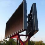 China Small Trailer Mounted Double Sided LED Sign P6 P8 P10 , 6mm Pixel Pitch wholesale
