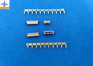 China 1.25mm Pitch Miniature Crimping Connector UL-listed Grey Color Lvds Display Connector on sale