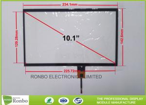 China 10.1 Inch Thin Thickness Projected Capacitive Touch Panel P + G Structure on sale