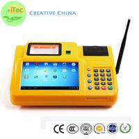 China 7 Inch touch Android Mobile POS id OCR identify Tablet POS Fingerprint payment terminal on sale