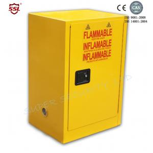 Quality Lockable Safety Solvent / Fuel Flammable Storage Cabinet For Class  3 Liquids For Sale ...