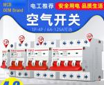 OEM Miniature Circuit Breaker 6~63A, 80~125A, 1P,2P,3P,4P for Circuit Protection AC220~240V Application