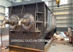 Thermal Oil Indirect-Heating Vacuum Paddle Dryer Equipment For Sludge