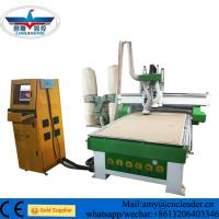 Automatic  tool changing wood carving  CNC router machine with 4*8ft for  kitchen cabinet door