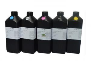 China VAN UV EPS001, offset uv ink for epson led uv printer, UV curable Inkjet Ink for all materail,  fast curig ink on sale