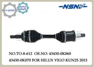 China Auto Parts Cv.Axle Drive Shaft For Toyota  Hilux Vigo Kun25 2015 Fortuner 43430-0k070 on sale