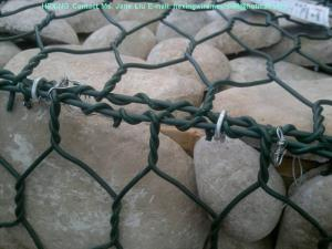 China PVC Coated/Galvanized Gabion Basket for Thailand Market on sale
