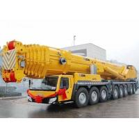 67 Meter Boom Lifting Height Truck Mounted Hydraulic Crane 110 Ton , SGS