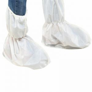 China Non Woven Fabric Disposable Waterproof Shoe Covers Environmentally Friendly on sale