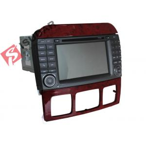 China Double Din Mercedes In Car Dvd Players , In Dash Gps Car Stereo With Navigation on sale