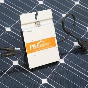 China 110V/220V/230V/240V on-grid solar kit for monocrystalline panel micro-inverters on sale