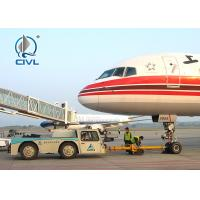 China 54Kn Towing Capacity Heavy Cargo Trucks Towing 80000KG Plane Aircraft tractor on sale