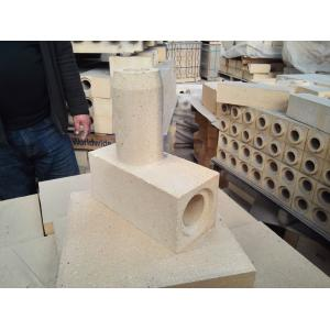 China Foundry Steel Casting Runner Bricks High Strength Fire Resistant on sale