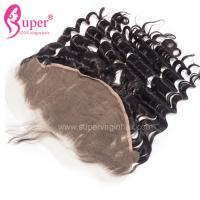 13*6 Lace Frontal Closure Pre Plucked Brazilian Ear To Ear Hair Extension Natural Wave