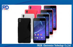 China Sony Z2 TPU Mobile Phone Protective Cases , Sony Z2 Cover Case For Sale on sale