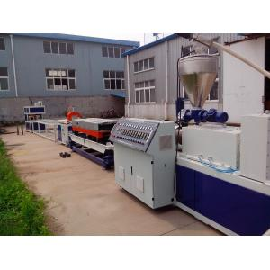 China PVC Double Wall Corrugated Pipe Production Line , Conical Double-Screw Extruder on sale