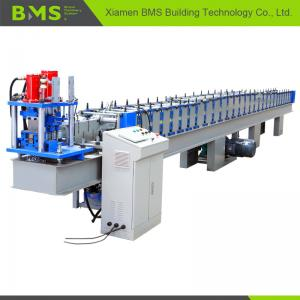 China High Speed T Profile Rolling Shutter Door Frame Making Machine 12-15m/Min on sale