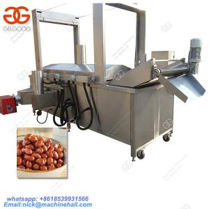China Best Peanut Frying Machine for Sale|Automatic Peanut Deep Frying Machine|Peanut Fryer with High Efficiency on sale