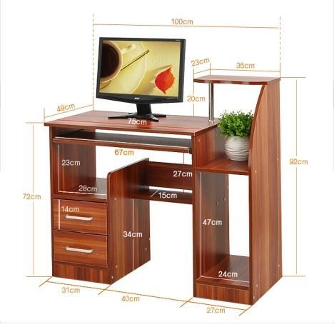 Wood Office Desks For Home for sale – Wooden Office Desks ...