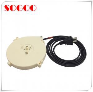China 1.8m Retractable Power Cord , Coiled AC Power Cord AU/US/EU/UK Plug on sale