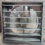 Industry Workshop AC Centrifugal Push-pull Type  Exhaust Fan Stainless Steel Blade with Galnanized Steel Shutter
